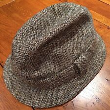 Harris Tweed Tribly Hat • Paisley Lined