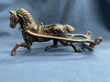 Vintage Antique Cast Iron Horse From A Wagon Or Other Toy Part