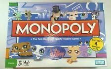 Littlest Pet Shop Edition Monopoly Board Game Replacement Parts & Pieces 2008