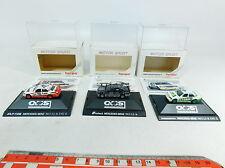 AX760-0,5# 3x Herpa H0 (1:87) COCHE DTM Mercedes/MB 190 E: 3541+3542+3522, W+