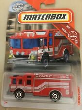 2019 Matchbox Hazard Squad #60/100 [Red] Mbx Rescue Diecast Truck