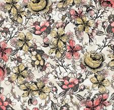 C'est La Vie Floral Fabri-quilt 100% Cotton fabric by the yard