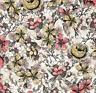 C'est La Vie Floral Sketch Paintbrush Studio 100% Cotton fabric by the yard