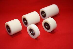 35 mm Nylon Roller Wheel Plastic Bearing CNC Guiding Wheel Flat Belt Idler