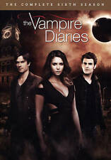 The Vampire Diaries: The Complete Sixth Season (DVD, 5-Disc Set) NEW/SEALED