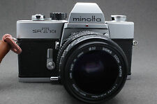 Minolta SRT 101 35mm Spiegelreflexkamera + Sigma 35-70mm Objektiv Lens SERVICED