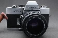 Minolta SRT 101 35mm reflex + obiettivo SIGMA 35-70mm Lens SERVICED