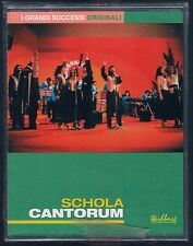 SCHOLA CANTORUM  I GRANDI SUCCESSI ORIGINALI DOPPIA  MC K7 MUSICASSETTA SIGILL.