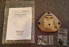 Norotos Universal NVG shroud mount in Tan for Mich, ACH, Ops Core