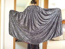 Silver cape, vine pattern/red lining; Thranduil costume cosplay LotR renaissance
