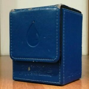 Ultra-Pro: Mana Flip Box - Second Version - BLUE - Porta Mazzo - MTG Magic #1