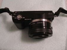 Very Nice Sony Alpha A5000 Mirrorless DSLR Digital Camera with 16-50mm Lens