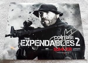 """UFC Legend """"The Natural"""" Randy Couture Signed The Expendables 2 Auto 8x10 Photo"""