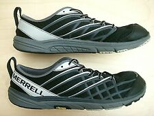 Nice MERRELL BARE ACCESS ARC 2 VIBRAM BLACK SILVER WOMEN'S TRAIL RUNNING SHOES 9