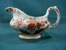 Booths Dovedale A8044 Rust and Blue Imari Gravy Boat