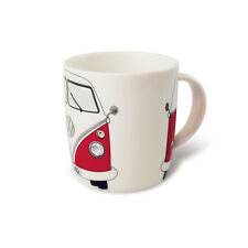 T1 Camper Bus Coffee Mug Cup Red Volkswagen VW Collection by BRISA BUTA01