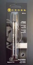 Cross Ballpoint Pen Refills 8513-2, Black Medium, Pack of 2