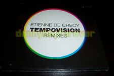 Etienne de Crecy NM 2 CD Set Tempovision Remixes CD1=Remixes CD2=Videos(CD-ROM)
