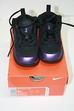 NIKE TODDLER WAVY BASKETBALL SHOES #BV1345 001 Preowned