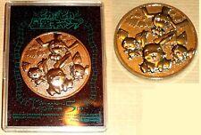 "POKEMON JETON COIN NEUF NEW ""COUNTER"" JAP 2002 THE MOTHIE 5th - PIKACHU PICHU"
