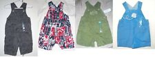 The Children's Place Infant Boys Overalls Creepers 4 Choices 0-3M 3-6M 6-9M NWT