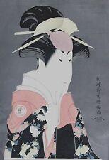 Utagawa Kunisada Original Signed Japanese Woodblock Print 1900's