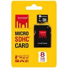 Strontium 8GB Micro SD SDHC Class 6 Android Memory Card with Adaptor