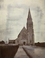 (2) ORIGINAL - St. MICHAELS CHURCH - TIPPERARY, IRELAND - CABINET PHOTOS c1899