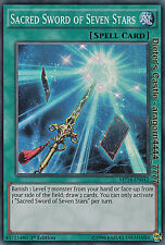 YU-GI-OH, SACRED SWORD OF SEVEN STARS, SR, MP14-EN042, 1. Edition, TOP