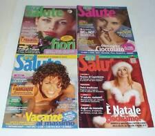 LOTTO 4 RIVISTE SALUTE (TV SORRISI CANZONI) 2003 ELENOIRE CASALEGNO FIORI TRUCCO