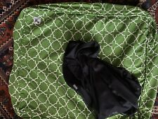 Molly Mutt Green Romeo And Juliet Duvet Small/ Medium Dog Bed With Liner Euc