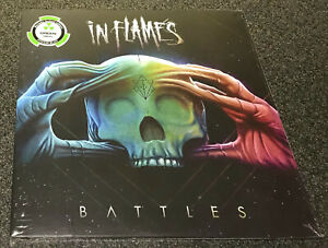 IN FLAMES-BATTLES-1ST PRESS 2016 2xLP GREEN VINYL-LIMITED TO 300-NEW & SEALED