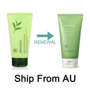 Innisfree Green Tea Foam Cleanser 150 ml / 5.07 oz Ship From AU