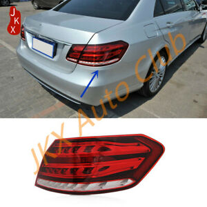 Right out  Side LED TailLight Rear Lamp j For Mercedes Benz W212 E~Class 2014~16
