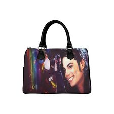 Michael Jackson King of Pop Barrel Hand Bag Handbag