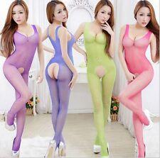 Sexy résille HOT SEX TOY Sleepwear Lingerie Sous-vêtements G-String Rose UK (1)