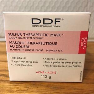 DDF Sulfur Therapeutic Mask Acne Blemish Treatment 113 g 4 Oz A17