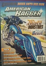 American Bagger Donnie Smith bike Show Misfit Industries Sept 2014 FREE SHIPPING
