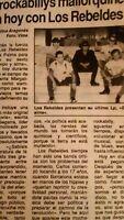 Los Rebeldes En Mallorca. Prensa.