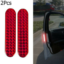 Lamp Alarm Decal Warning Tape Door Sticker Safety Mark Car Reflective Strips
