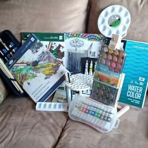 Art supplies lot