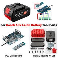 Für Bosch 18V Li-Ionen Batteriegehäuse Gehäusesatz Ersatzplatine Leiterplatten