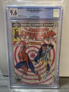 Amazing Spider-Man #201 Punisher CGC 9.6
