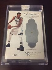 Karl Anthony Towns 2016-17 Panini Flawless Encased  #88 Diamond Gem/25 Wolves