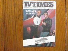 June-1980 TV Times TELE-VUE(RON HOWARD/HENRY WINKLER/THE LONE RANGER/HAPPY DAYS