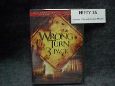WRONG TURN TRILOGY 2 DEAD END 3 LEFT FOR DEAD 3-PACK DVD