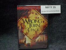 WRONG TURN TRILOGY 2 DEAD END 3 LEFT FOR DEAD 3-PACK DVD
