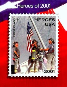 World Trade Center Vintage 9/11 Heroes 2001 Stamp Set WTC 1st Issue 20 Sheet COA