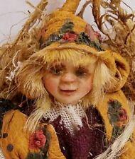 Artist Dwarf Elf Gnome Woodsey Man Doll Dollhouse Miniature 1:12 Hand Made