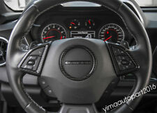 Accessories For Chevrolet Camaro 2016 2017 ABS Steering Wheel Circle Cover Trim